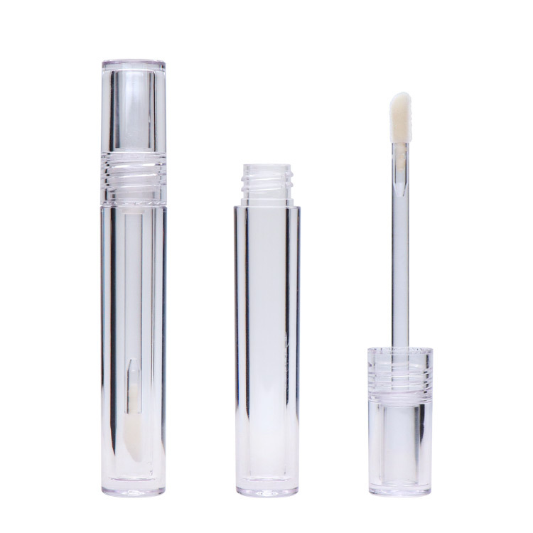 Empty all clear transparent lip gloss container lip gloss tube packaging liquid lipstick container lipstick tube