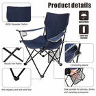 HOMFUL Custom OEM Camping Chair Foldable Fishing Beach Moon Outdoor Camping Chair