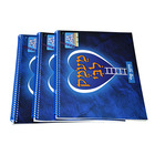 Factory high quality soft cover children education book spiral binding catalog book printing service