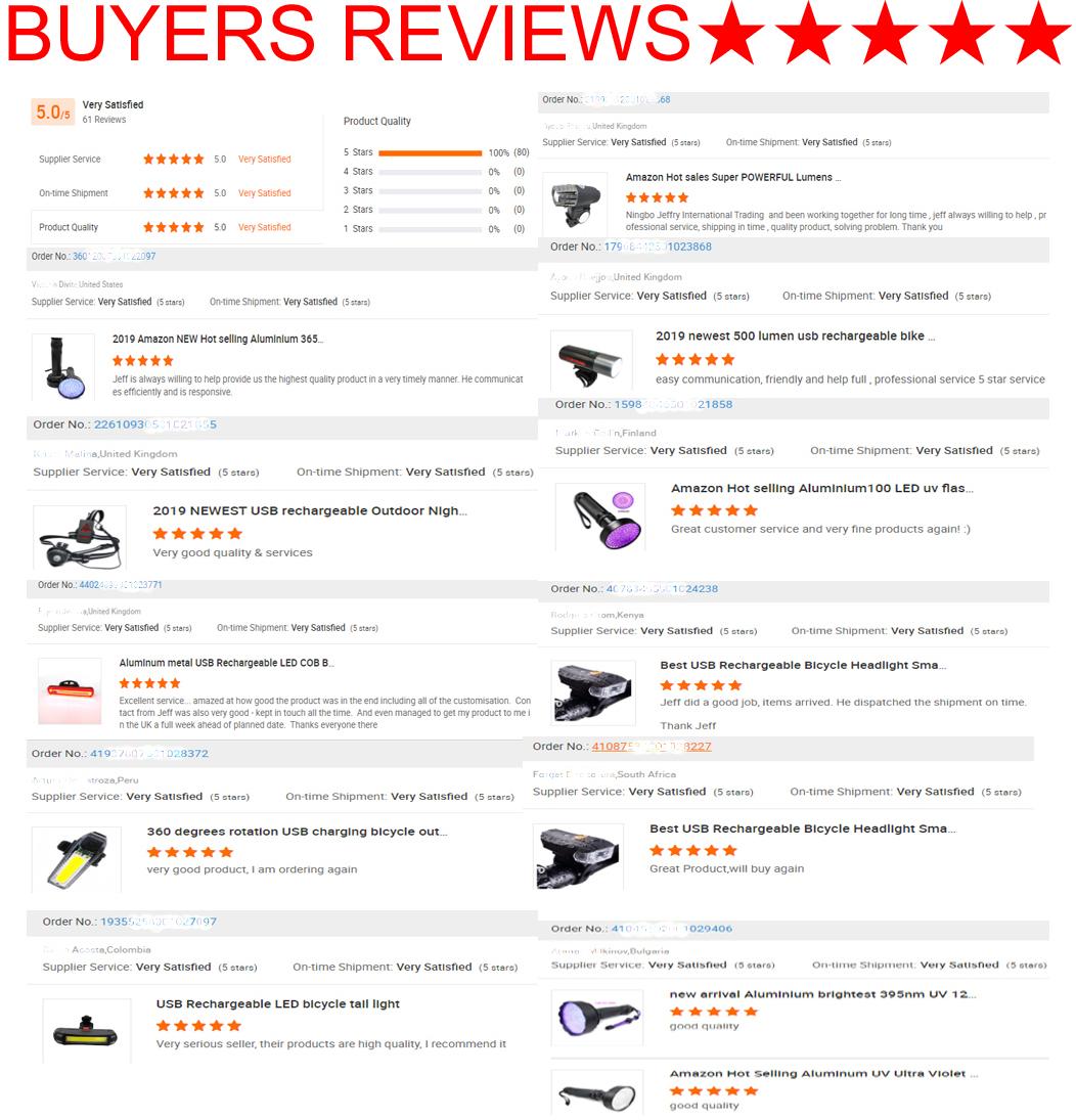 USB Rechargeable LED Bike Light Set 350 Lumens Bicycle Headlight Water Resistance LED  Back Rear Lights