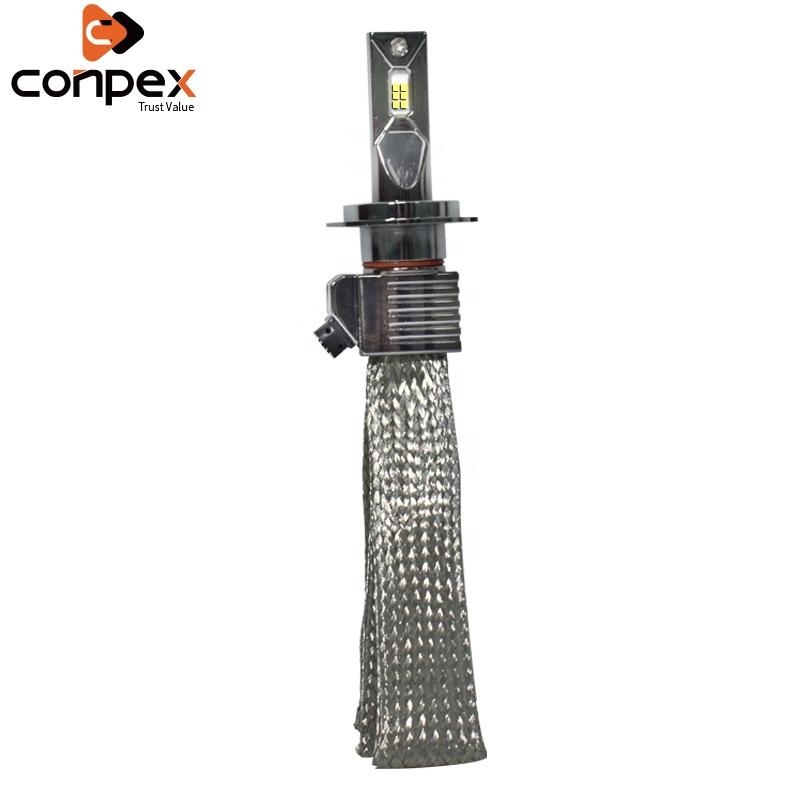 Copper Strips Auto LED Headlight Conpex 4000 LM 37W Mini Car Headlight Blubs For Car Modification P11