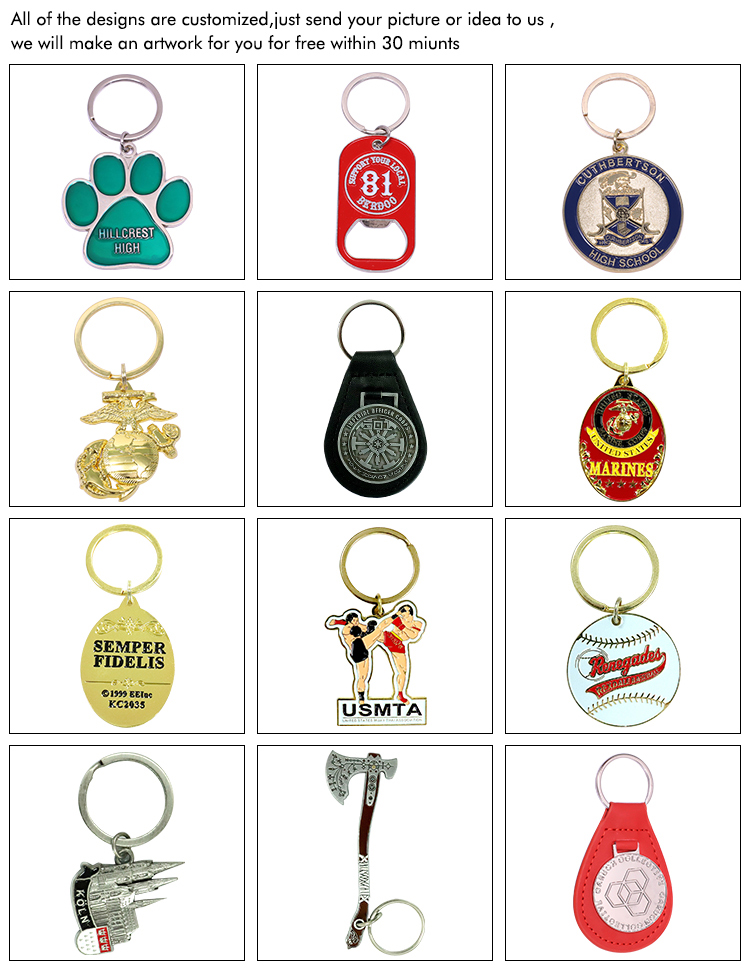 factory direct number plate mirror mini keychains