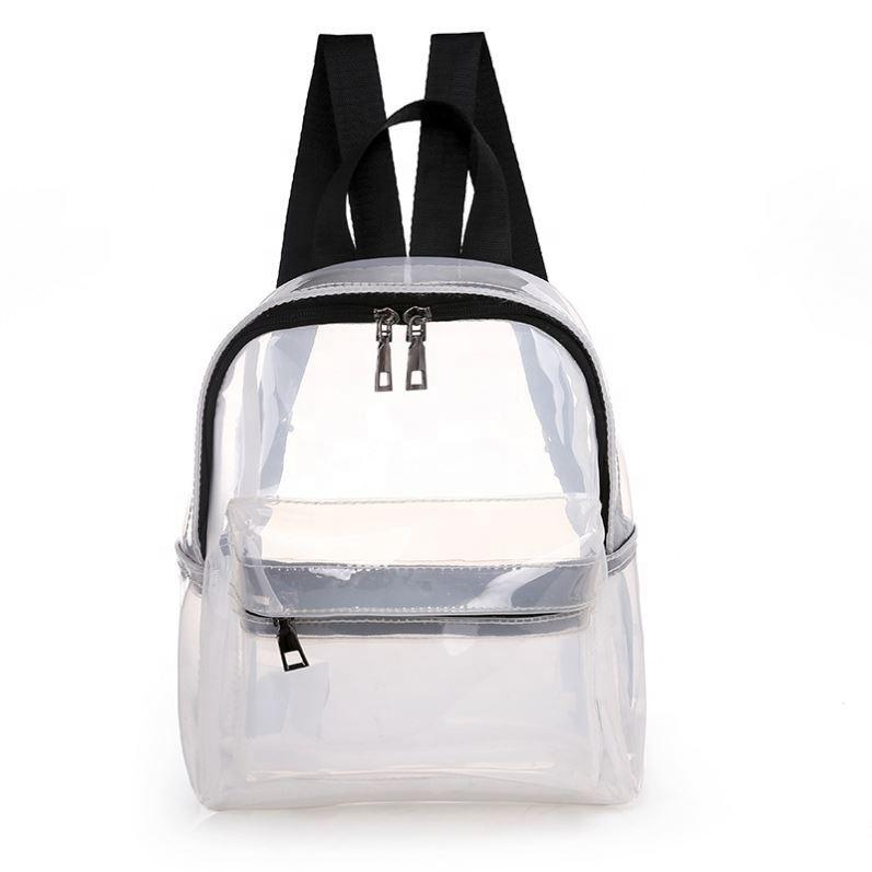 Venta al por mayor comprar mochilas transparentes Compre