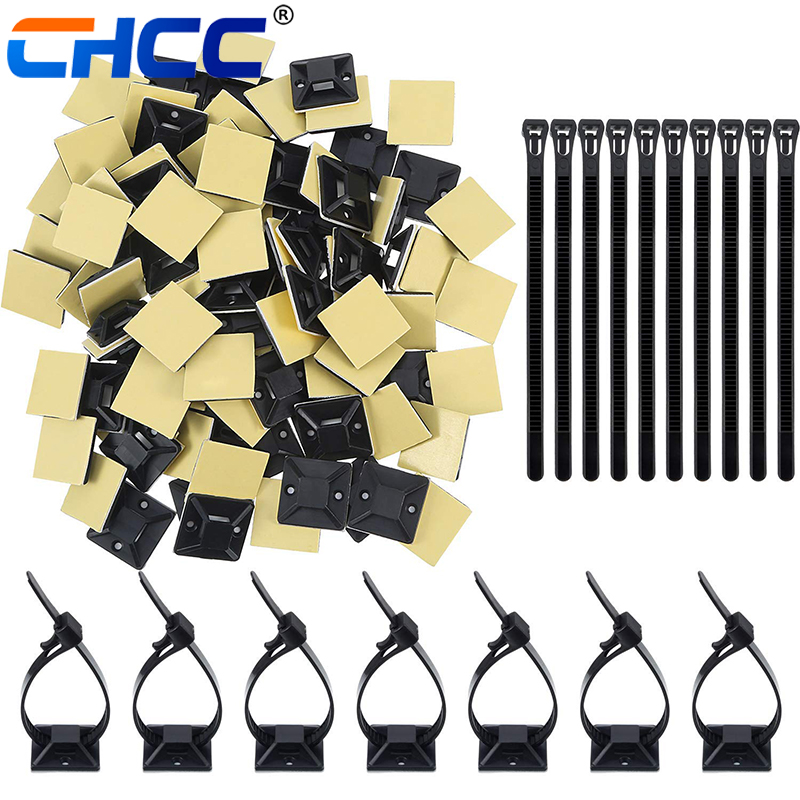 Nylon plastics high quality cable tie mounts