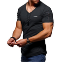 2020 New Arrive Men Sport Sweatshirts Gym Short Sleeve Multiple Solid Color Workout T shirts