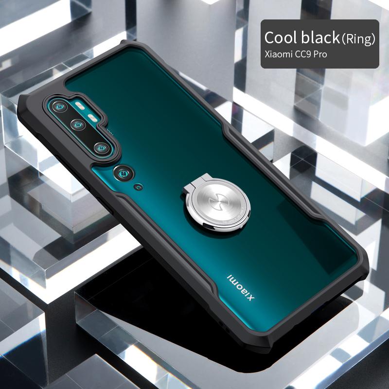 Xundd ударопрочный чехол для телефона CC9 Pro, чехол, Xundd бампер, подушка безопасности, защитный чехол, прозрачный чехол для Xiaomi Note 10(Китай)