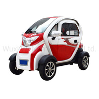 New hot version smart 3 seats 4 wheels cheap mini electric car for sale