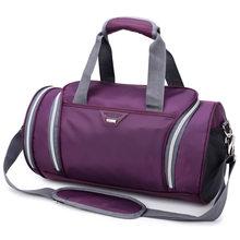 Мужские спортивные сумки для тренировок, водонепроницаемая нейлоновая баскетбольная сумка для фитнеса, путешествий, спортивная сумка с об...(Китай)