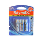 Raymax 1250mAh 1.5v am4 LR03 No.7 Dry 10 Years Guarantee Super Alkaline Dry Camera aa aaa Batteries
