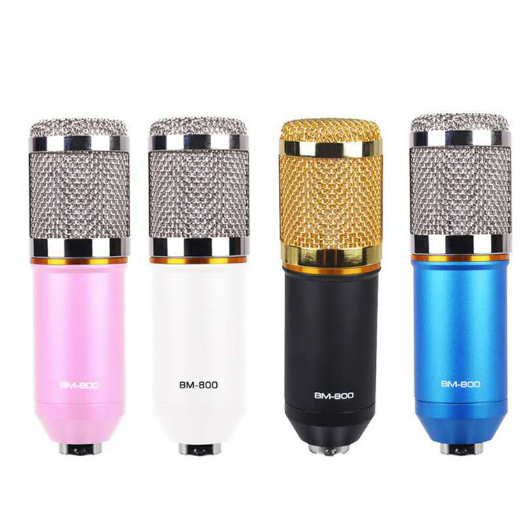 Mobile Computer K Song BM800 Microphone Recording Condenser Microphone Set