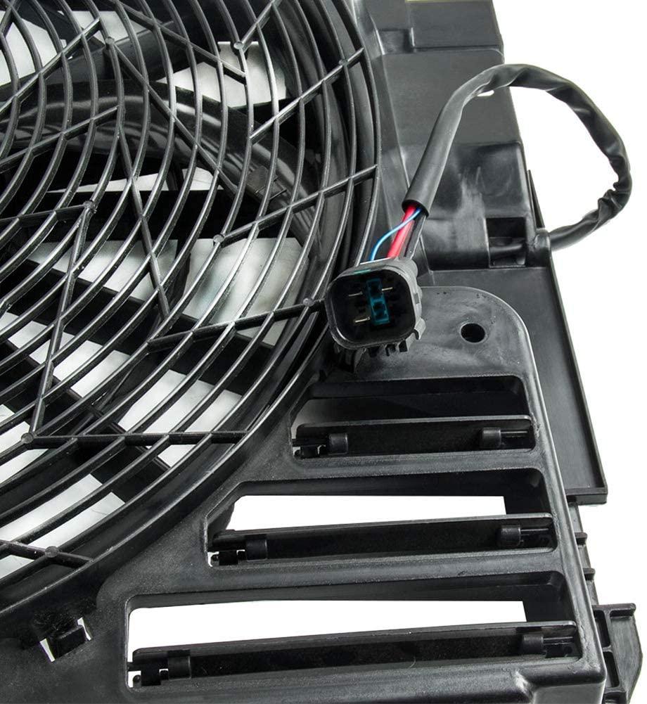 Tự Động AC A/C Ngưng Quạt Làm Mát Lắp Ráp Phù Hợp Cho Những Chiếc BMW X5 E53 2000-2006 64546921381