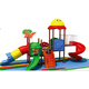 Outdoor exercise customized good quality outdoor playground kids plastic tube slide