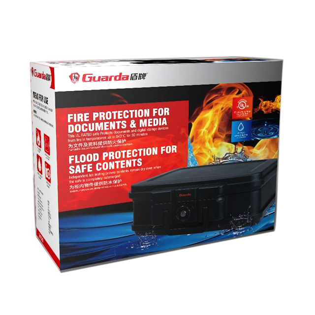 Guarda professional fireproof waterproof safe factory for home-1