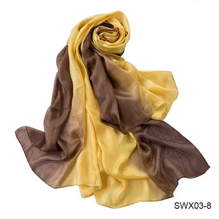 High Quality Ladies Linen Scarf Fashion Mixed Color Women Long Scarves