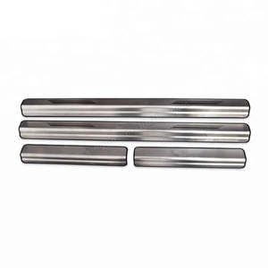 Car Stainless Steel External Door Sill Scuff Plate