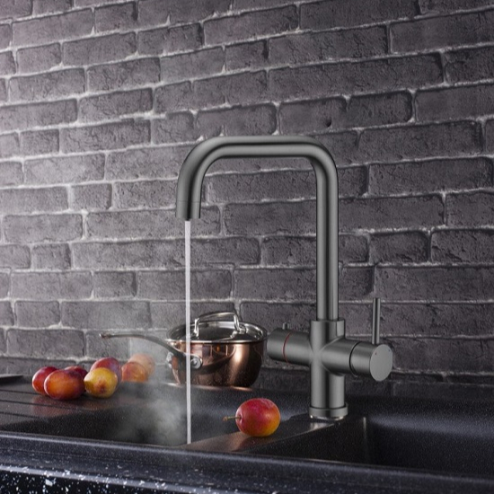 gun mental 4 in 1 Boiling Water Tap with Chilling Function