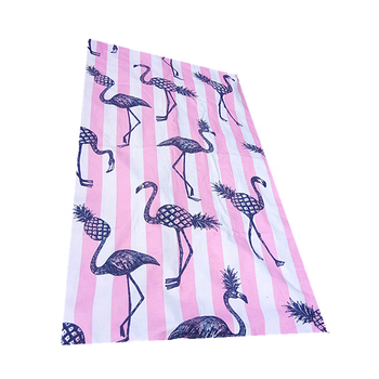 Custom 100% Cotton Printed Compressed Beach Towel For Gifts