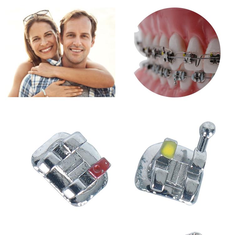 שיניים 018 022 סטנדרטי מיני פלטות שיניים ortho bracket רוט