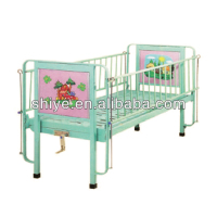 BC-536 Good price 1 Crank steel children hospital beds for medical pediatric department