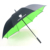 Promotional long handle high quality Double layer golf umbrella with custom logo printing