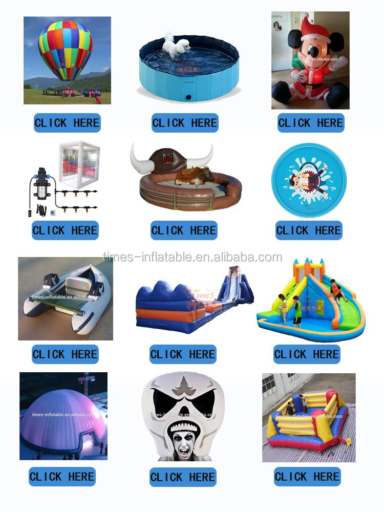 ยอดนิยมฆ่าเชื้อ PVC Inflatable ช่องฆ่าเชื้อ Inflatable อุโมงค์