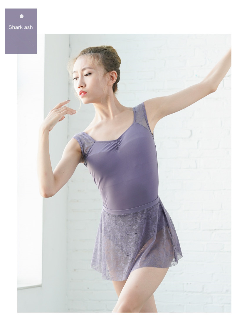 119143006 New Arrival Lace Dance Skirt for Ballet Pull on Ballet Skirt Adult