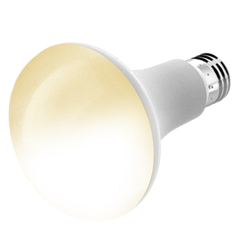 Умная Wifi BR30 лампочка, яркость и цвет, диммируемая Светодиодная лампа