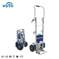 XSTO ZW7170GF heavy duty electric climbing stair climber cargo electric hand cart trolley