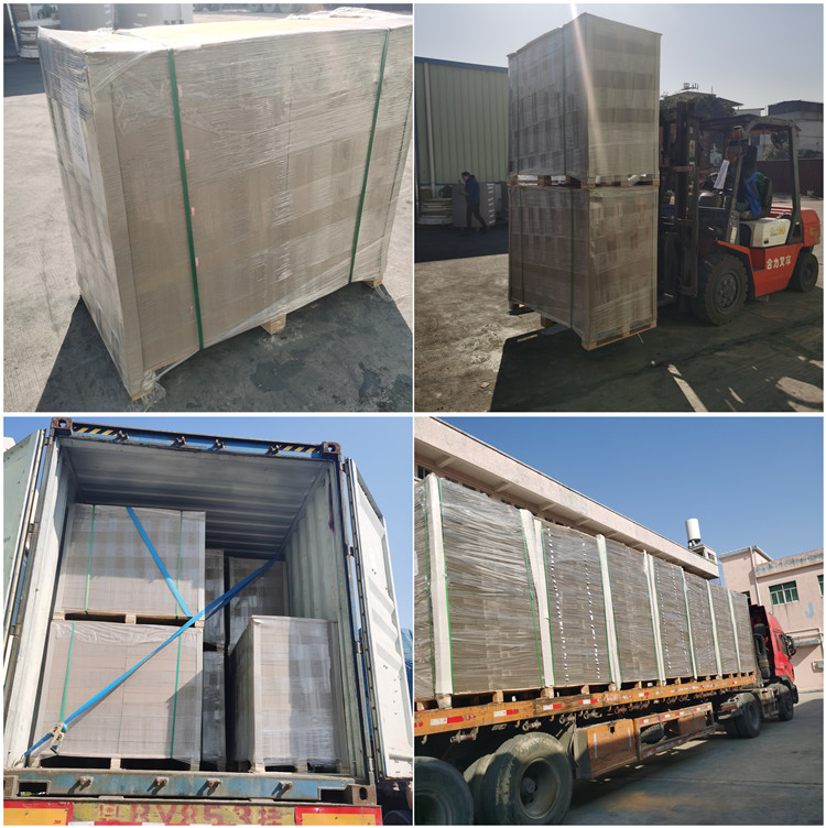 Dongguan Grey chip board/Gray cardboard/hemp paper supplier
