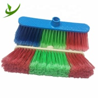 Cheap Price Wholesale High Quality Garden Cleaning Tools Brooms Head Plastic Floor Cleaning Broom And Brush