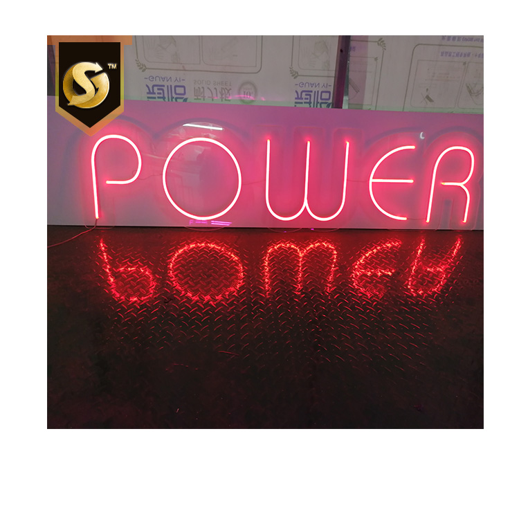 Hot Selling Decorative  neon sign LED optic neon sign LED  letters
