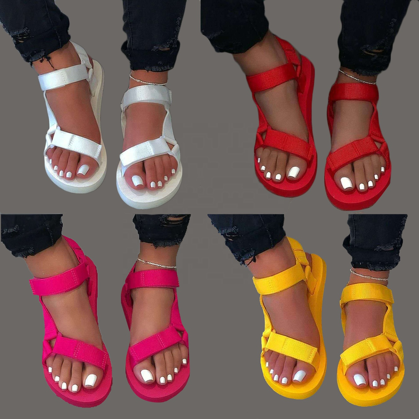 2020 <strong>Sandals</strong> For Women New Release Fashion Casual Shoes Women Ladies Shoes Slides