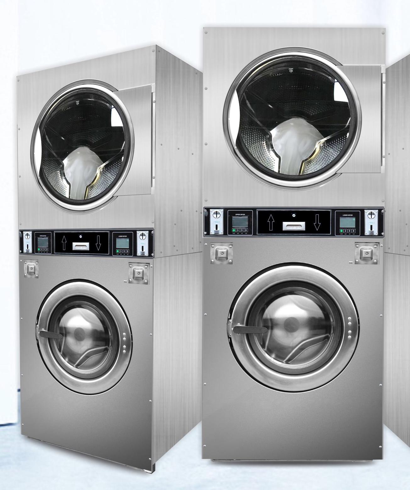 Volautomatische Commerciële Muntautomaat Wasserij Wasmachine Prijzen 10Kg