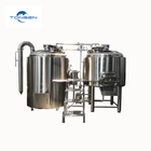Automatic Hot Selling 304 Stainless Steel 500L Beer Brewing System Microbrewery