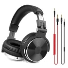 Oneodio Over Ear Headphones Hifi Studio DJ Headphone Wired Monitor Music Gaming Headset Earphone For Phone Computer PC With Mic