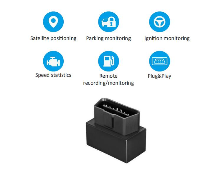 OBD Car GPS Tracker Car Vehicle OBD plug play GPS Tracker