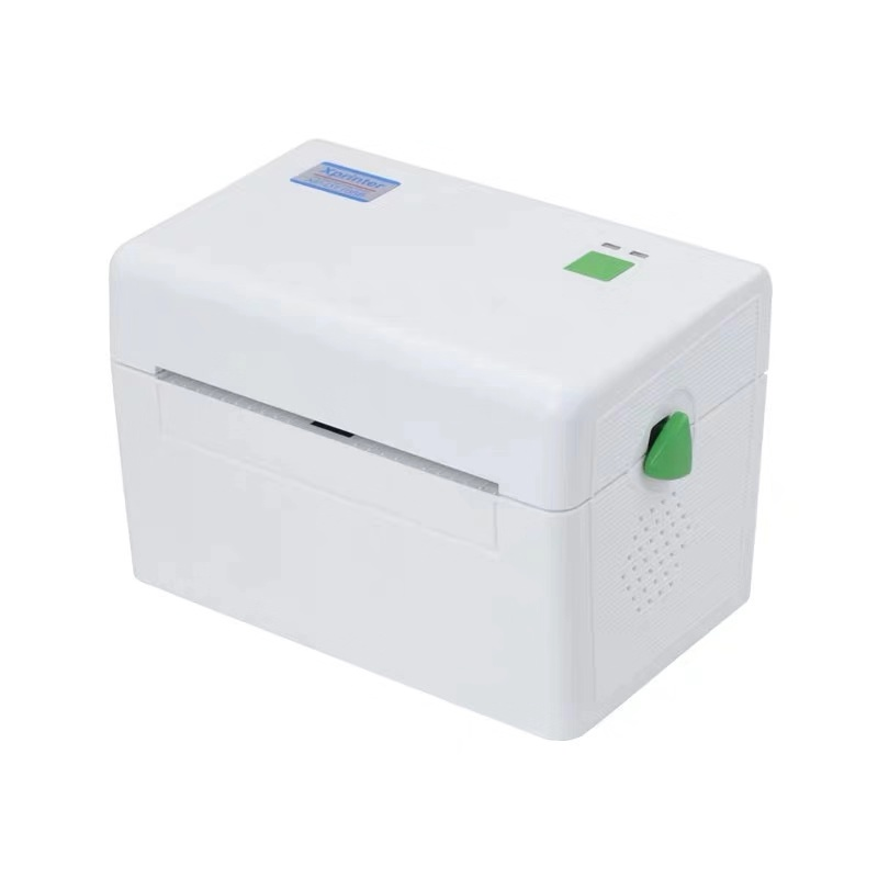 XP-DT108B Barcode Label Printer Thermische Label Printer 4 Inch 22Mm Tot 118Mm Bar Code Printer Usb-poort