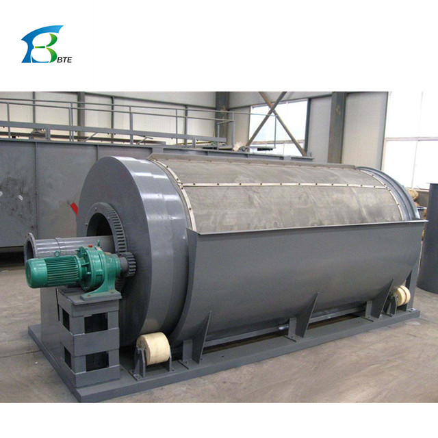 Water treatment equipment industrial water stainless steel rotary drum filter