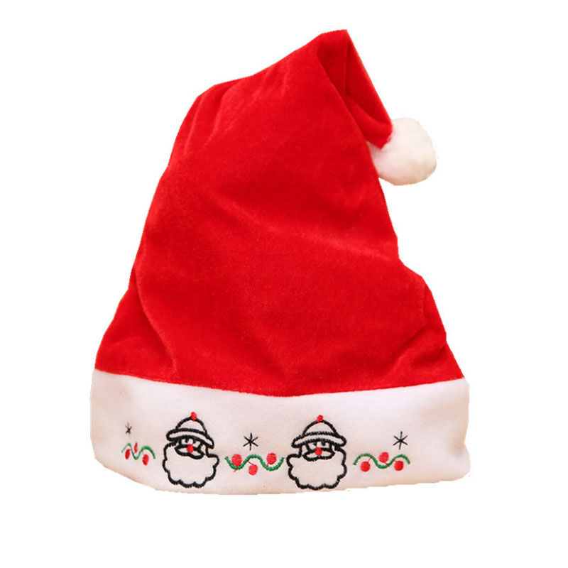 China Suppliers Import Custom Design Santa Claus Cap Wool Felted <strong>Christmas</strong> Hat for <strong>Babies</strong> <strong>First</strong> Merry Xmas Hat
