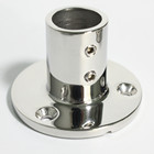 Marine supplies marine hardware stainless steel boat Hand Rail Fitting 90 Degree Round Stanchion Base
