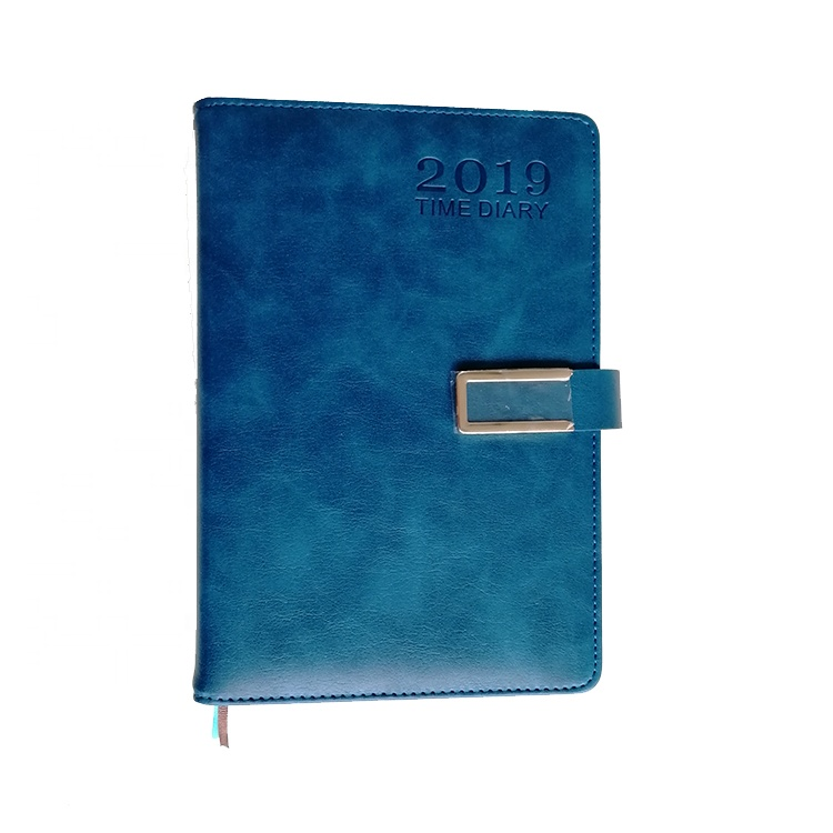 Manufacturer Custom Printing Classic Business A5 Leather Notebook