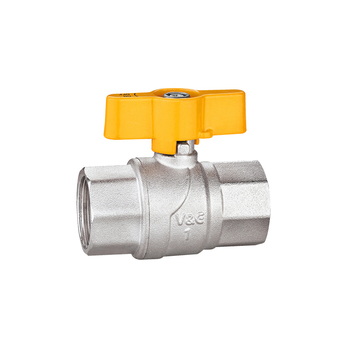 Made In China 1/4 - 1 Inch Industrial Stove Oil And Gas Flow Control Brass Water Air Ball Valve