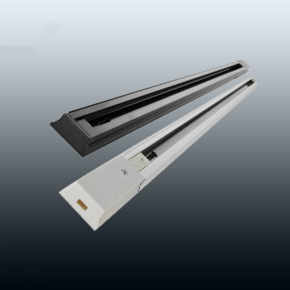 Groothandel 50cm 100cm 200cm 2-draad track led track lineaire aluminium gids