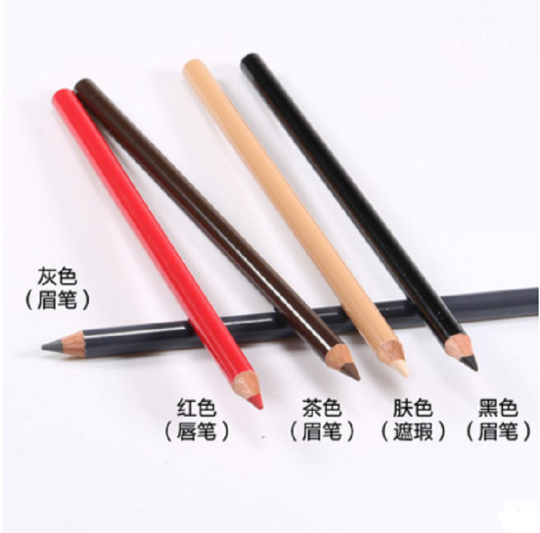 Eyebrow Low moq private label eye Pencil Dark Brown Colored waterproof long lasting Eyebrow Pencil