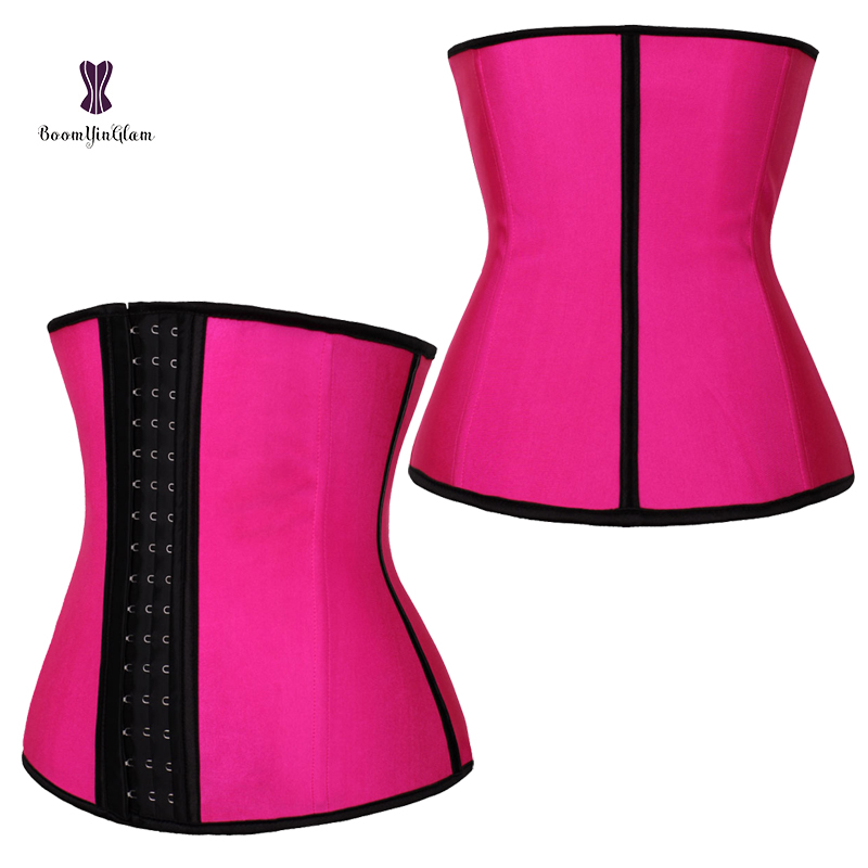 Frauen Unterbrust Latex Sport Gürtel Taille Trainer Korsetts Body Shaper taille cincher private label