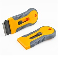 Costom Window Sticker Removal Plastic Retractable Razor Blade Scraper