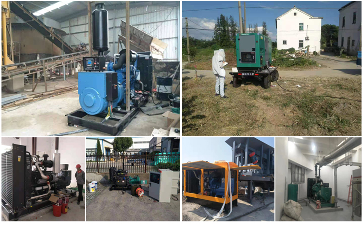 500kVA 400V open type or silent type Enclosure  Engine Diesel Generator in india