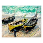 modern sail boat oil painting canvas print artwork sea beach scenery wall art