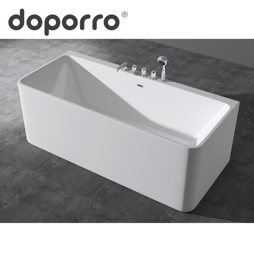 doporro bathroom standing acrylic bath tub alcove bathtub FB-601