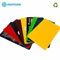 ECO-PET Credit Card size E-ticket Access control Card MIFARE Plus X 2K chip Smart NFC RFID Card